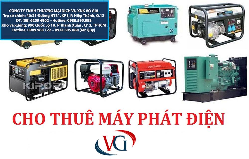 cho thuê máy phát điện quận 11, cho thue may phat dien quan 11