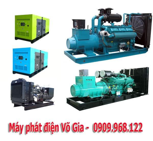 Máy phát điện công nghiệp Võ Gia cung cấp hàng chính hãng chất lượng nhất.