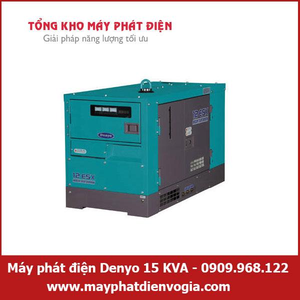 Máy phát điện Denyo 15 KVA, may-phat-dien-Denyo-15-KVA