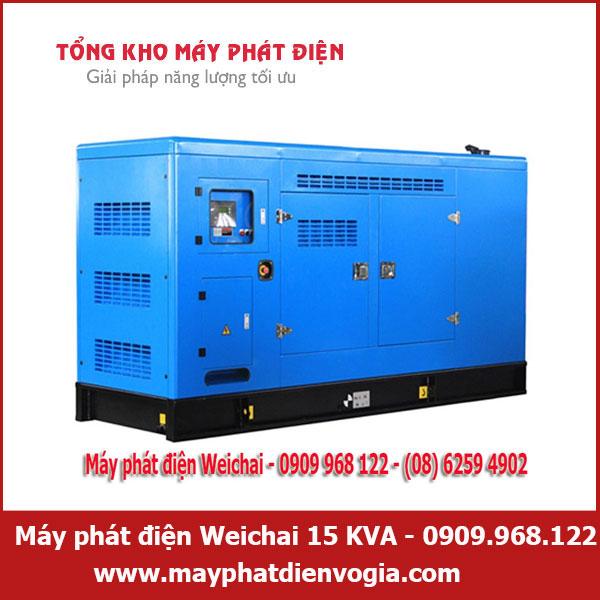 Máy phát điện Weichai 15 KVA, may-phat-dien-weichai-15-KVA